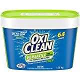 OxiClean Free Versatile Stain Remover Powder, NO Perfumes or Dyes, 1.36-kg