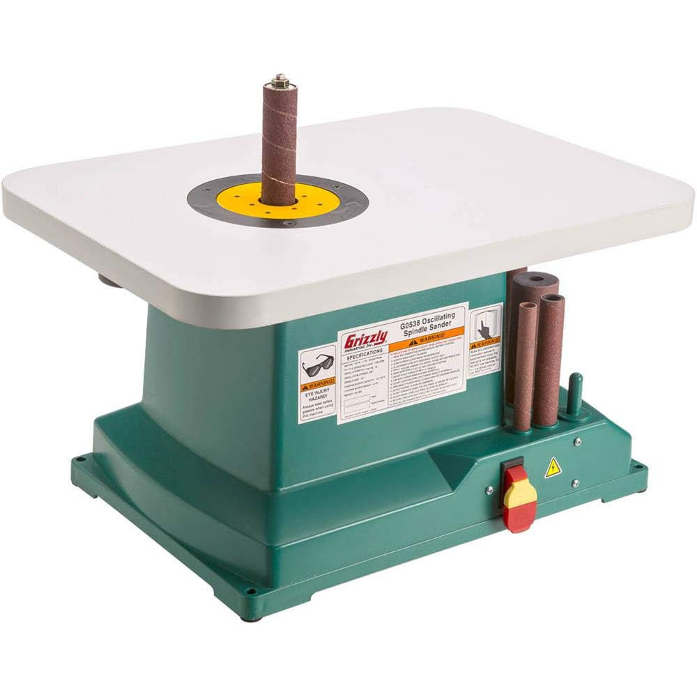 Grizzly Industrial G0538-1/3 HP Oscillating Spindle Sander by Grizzly