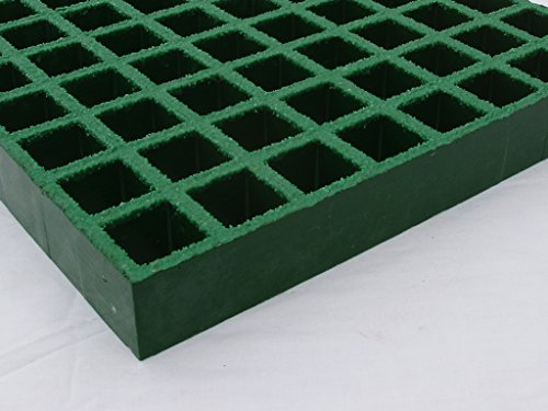 PROGrid Molded Fiberglass Grating - I15-GN-G32, 96 In Length by PROGrid
