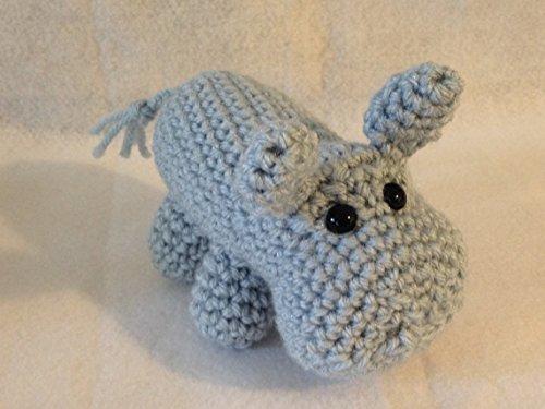 Hippo Doll – Small Stuffed Animal – Crochet