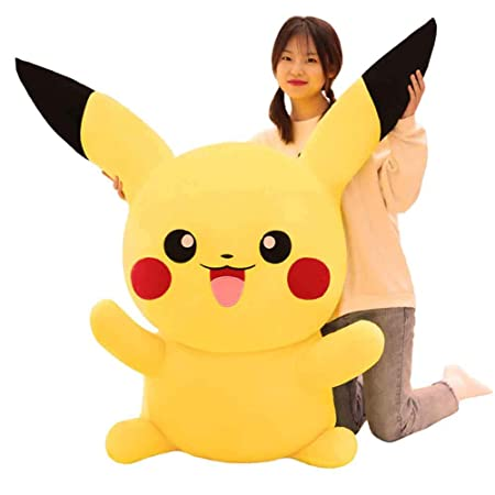 Muñeca Pikachu Peluche Almohada Grande Muñeca Regalo de Cumpleaños ...