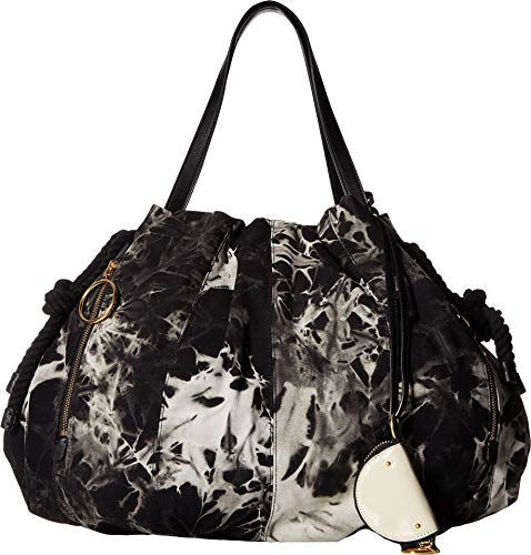 (See by Chloe Women's Flo Nylon Tote Black 2 One Size)