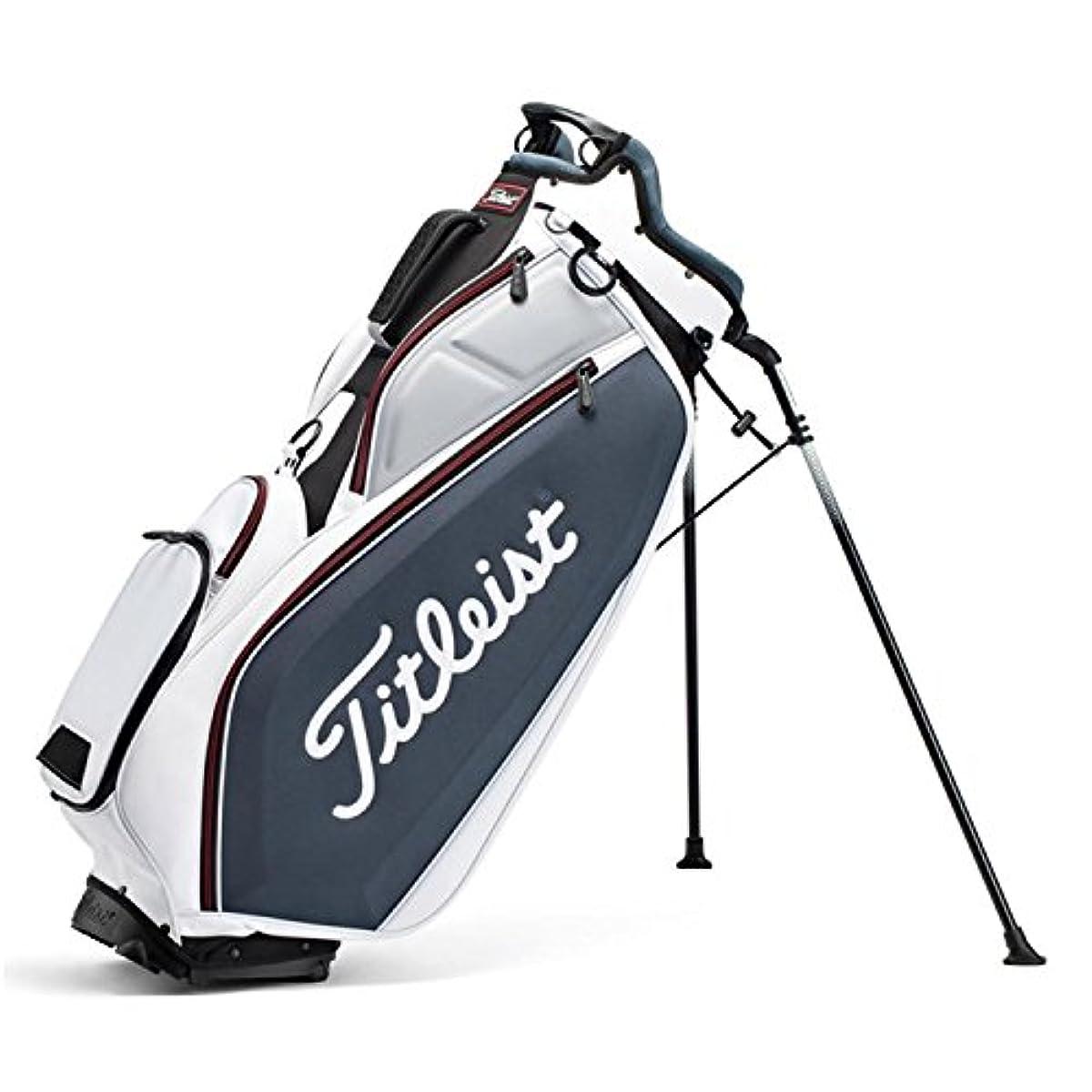 [해외] TITLEIST (퍼터이틀리스트) GOLF STAND BAG 골프 스탠드 화이트