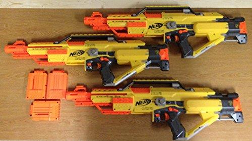 Nerf N-Strike Stampede ECS w/ 6 round ammo clip