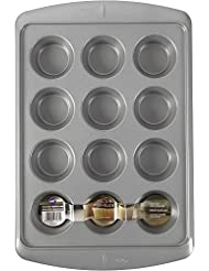 Wilton 2105-7944 Ever-Glide Muffin Pan 12 Cup