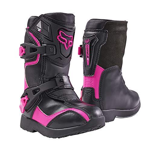 Fox Racing 2019 Comp 5K Boots - Pee Wee (13) (Black/Pink)