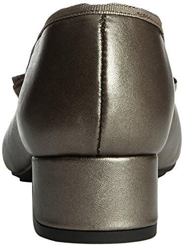 Carvela Aggie - punta cerrada de cuero mujer Plata - Silver (Pewter)