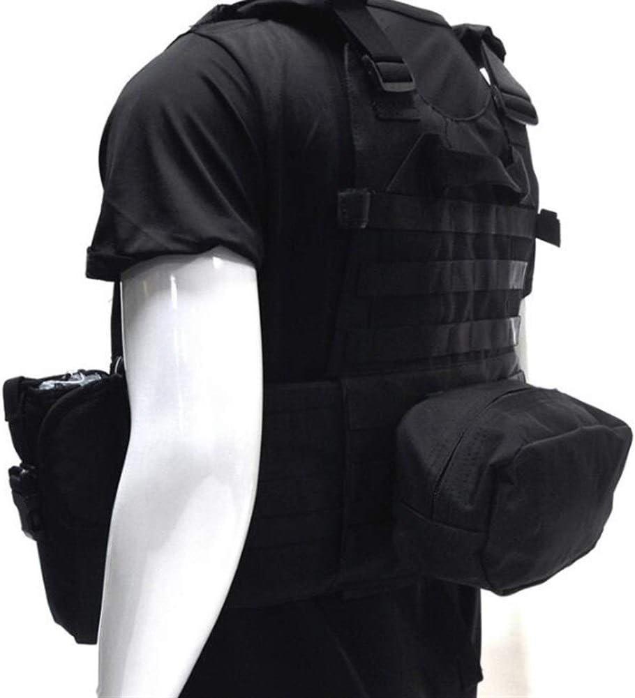YANODA Gilet Tactique Militaire Gilet De Chasse en Plein Air for Hommes avec Gilet De Poche Hydratation Gilet De Camouflage Sport
