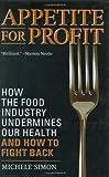 Appetite for Profit, Michele Simon, 1560259973
