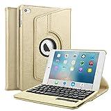 Best Boriyuan Ipad Cases Skins - iPad Mini 4 Case, BoriYuan Bluetooth Keyboard Tablet Review
