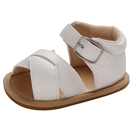 BBmoda Sandalias Bebe Niña Verano Zapatos con Suela Dura de Goma ...