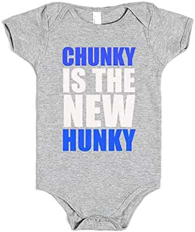 0b45b69d4 Southern Designs Chunky is The New Hunky Funny Baby Onesie Romper for Girls  and Boys
