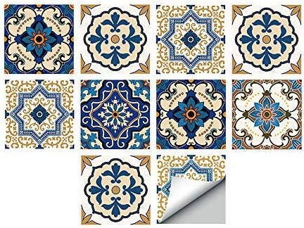 18× Waterproof Tile Wall Sticker Self-adhesive Bathroom Kitchen Wall Paper Decal