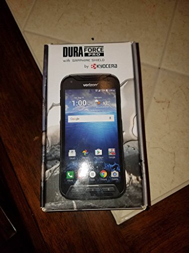 Kyocera DuraFORCE E6810 Pro w/Sapphire Shield Verizon Rugged 4G Android Smart Phone (Renewed) (The Best Verizon Smartphone)