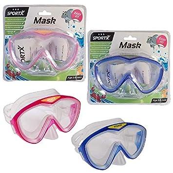 SPORTX M-1033 - Kinder Schwimmen Maske