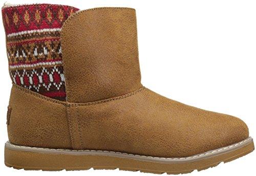 braun Beige Boots Csnt Desert Bobs Damen Alpine Snowday Skechers Marron XSYq0x