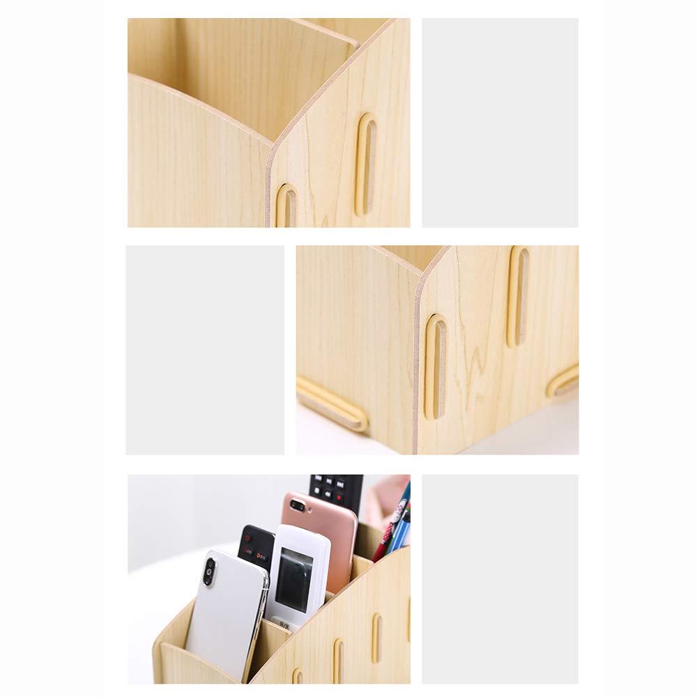 GaoJinZhuan TV-Fernbedienung Aufbewahrungsbox Nordic Home Wohnzimmer Kreative Desktop-Aufbewahrungsbox Multifunktions-Handy-Aufbewahrungsbox (Farbe (Farbe (Farbe   Weiß Maple) B07LBCCFKC | Speichern  71597b