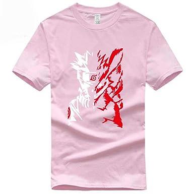 precio más bajo con amplia gama ventas especiales TWQOFV Camisetas Hombre Supreme Naruto Camiseta de algodón ...
