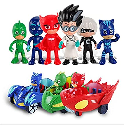 Game, Fun, Hot Anime Figures pj mask Character Catboy pjmask Action Figures Toys for