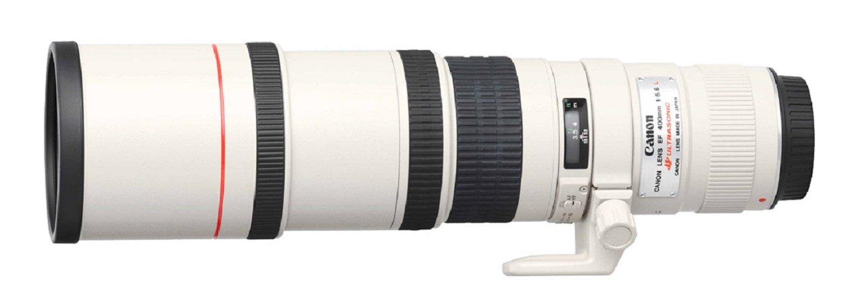 Canon EF mm f L USM Objetivo para Canon diámetro: mm blanco