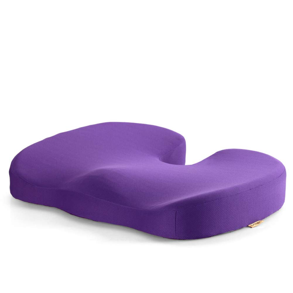 Der Gel Memory Cotton Cushion Nonlip Thicken Seat Suitable for Office Outdoor Garden Dormitory (Color : C, Size : 45x35x7cm(18x14x3inch))