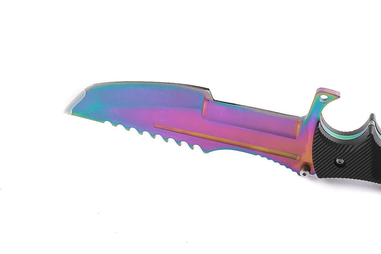 ARI Knives CSGO Huntsman Knife – Fade – Trainer CSGO Knife Skin Counter-Strike Entrenamiento Cuchillo übungsmesser Cuchillo de Caza – Bundle – ...