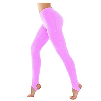 30ab298fe3ec5c Kids Children Girls Stirrup Leggings Sports School Dance Ballet Gymnastics  Tights