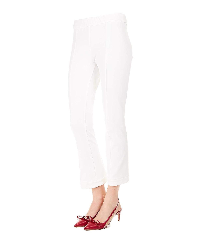 TwinSet Women's 191TP242400827 White Cotton Jeans