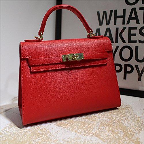 Bolso Hombro Del Lleva Bolsa El Modelo Big Red La De Diagonal Gunaindmx Mano Cruz AqRY10
