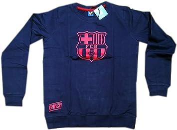 Madness Sudadera niño Fútbol Club Barcelona Azul Tallas 10 a 16 (16): Amazon.es: Deportes y aire libre