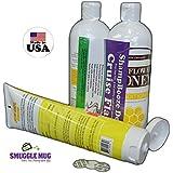 ShampBooze Deluxe and Sunscreen Flask Set by Smuggle Mug