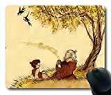 Popular Mouse Pad with Avatar The Last Airbender 1 Non-Slip Neoprene Rubber Standard Size 9 Inch(220mm) X 7 Inch(180mm) X 1/8 Inch(3mm) Mousepads