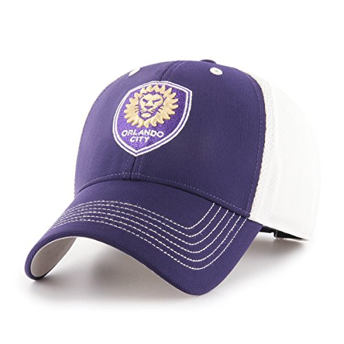 fan products of MLS Orlando City Soccer Club Sling OTS All-Star Adjustable Hat, Purple, One Size