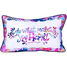 Stephanie Corfee Do What Makes You Happy Pillow, 8144414