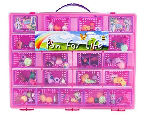 Fun For Life Storage Case with Carrying Handle, Strawberry / Pink by Fun For Life