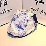 ZnzbztPeaked Cap Korean flower tide lace breathable berets forward cap is smart casual cap children, Adjustable, blue berets