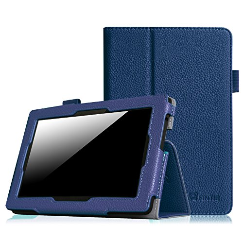 Fintie Folio Case for Kindle Fire HD 7 (2013 Old Model) - Slim Fit Folio Case with Auto Sleep / Wake Feature (will only fit Amazon Kindle Fire HD 7, Previous Generation - 3rd), Navy