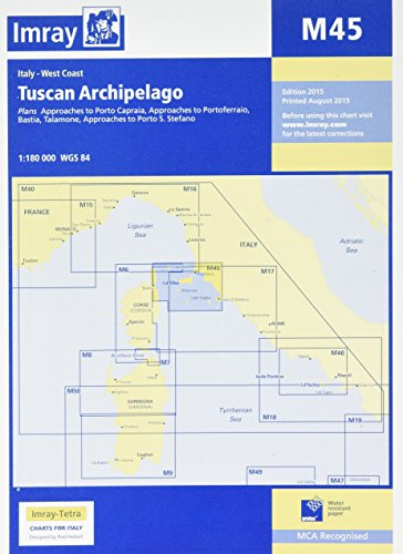 Imray Chart M45: Tuscan Archipelago