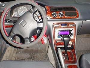 Honda accord interior burl wood dash trim kit set 1994 1995 1996 1997 automotive for 1995 honda civic interior parts