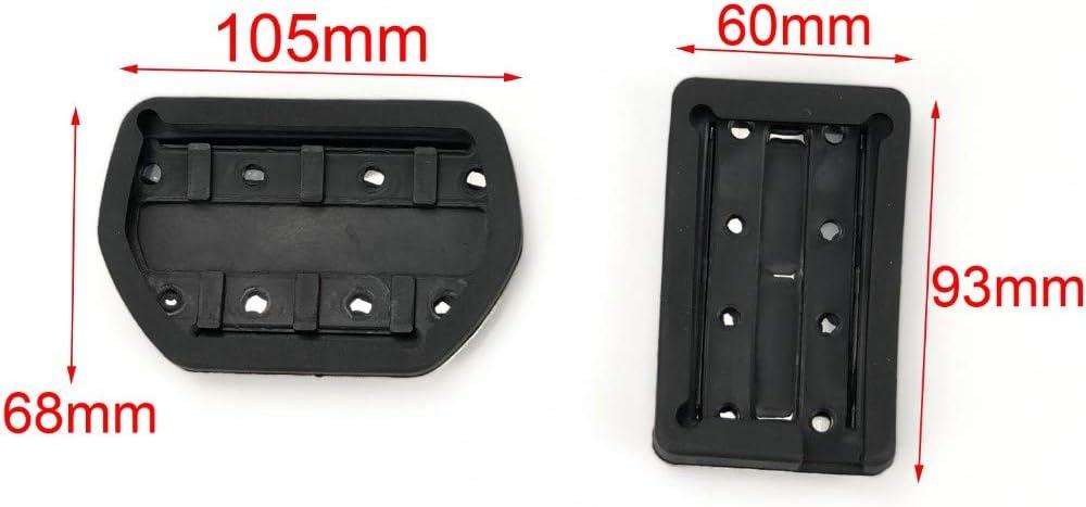 XLTWKK Bo/îtier de p/édale dacc/él/érateur de Frein antid/érapant en Acier Inoxydable pour Peugeot 508 3008 Citroen C5 C6