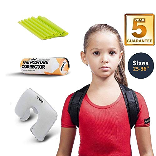 Posture Corrector, Comfortable With 5 YEARS WARRANTY, 28-35