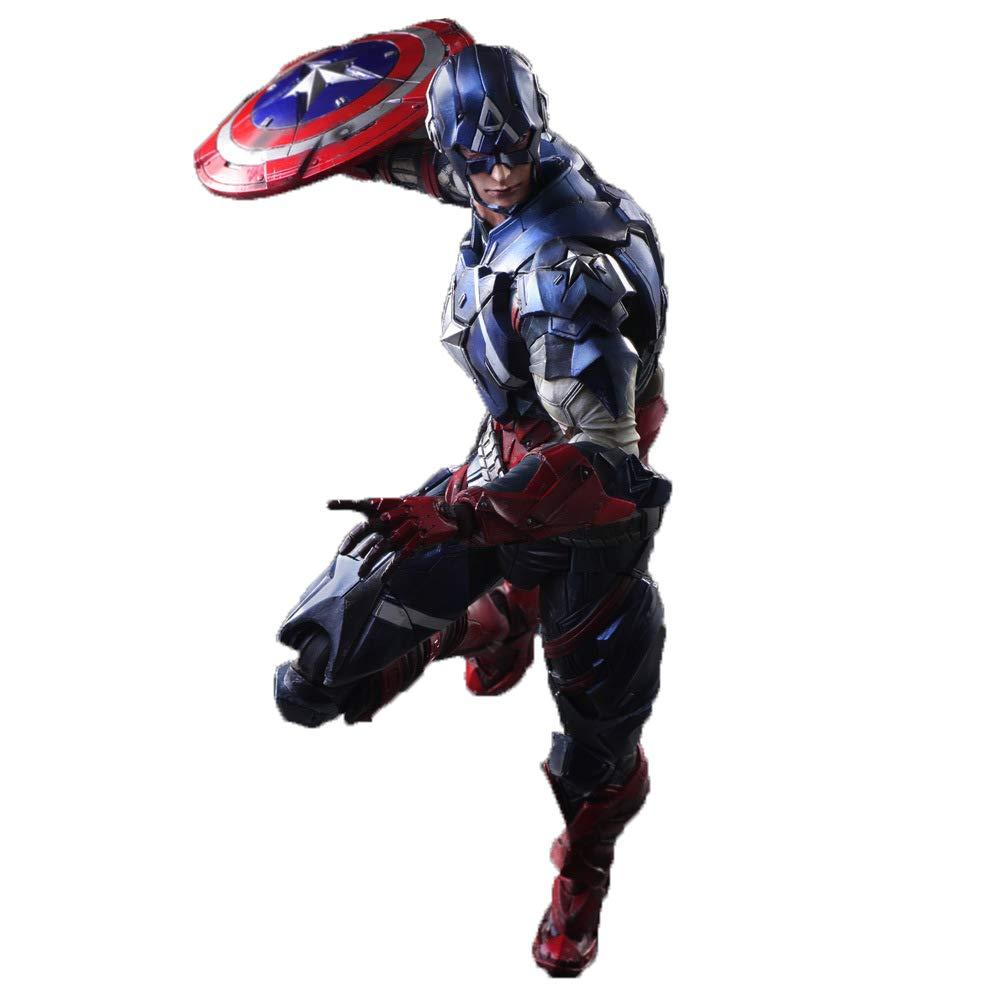 tienda WYZBD Modelo de Personaje héroe de Capitán América América América Avengers 4 Batalla Final acción muñecas Modelo de Mano  producto de calidad