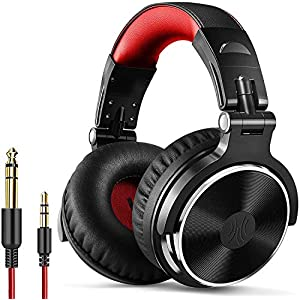 OneOdio Wired Over Ear Headphones Hi-Fi Sound & Bass Boosted headphone with 50mm Neodymium Drivers and 1/4 to 3.5mm…