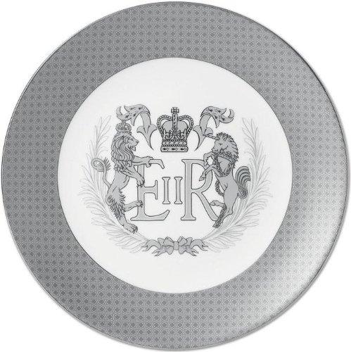 Wedgwood Diamond Jubilee Queen Elizabeth II Plate