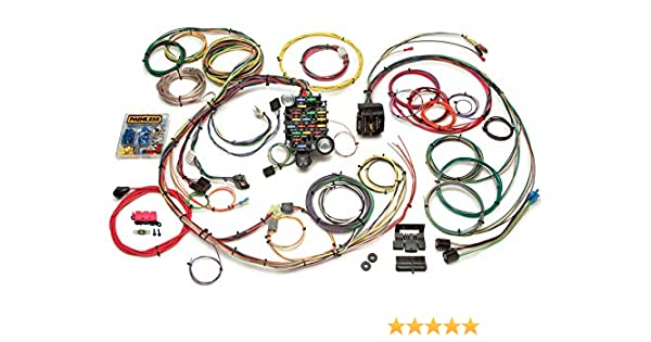 Amazon.com: Painless Performance 20101 Classic-Plus Customizable 1967-68  Camaro/Firebird Harness - 24 Circuits: Automotive