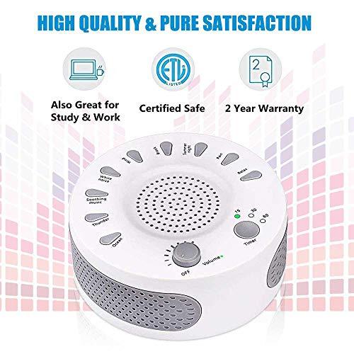 Umiwe Sound Machine Sleep Therapy with Timers 9 Sound Baby Sleep &