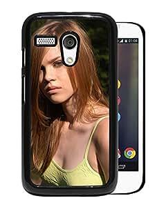 Beautiful Girl Cover Case For Motorola Moto G With Darinka Girl Mobile Wallpaper Phone Case