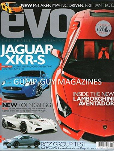 EVO Magazine (Jaguar XKR-S, Number ()