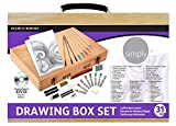 Daler Rowney Simply Drawing Wood Box Set