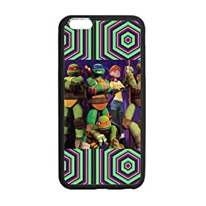 Customize TPU Gel Skin Case Cover for iphone 6+, iphone 6 plus Cover (5.5 inch), Teenage Mutant Ninja Turtles